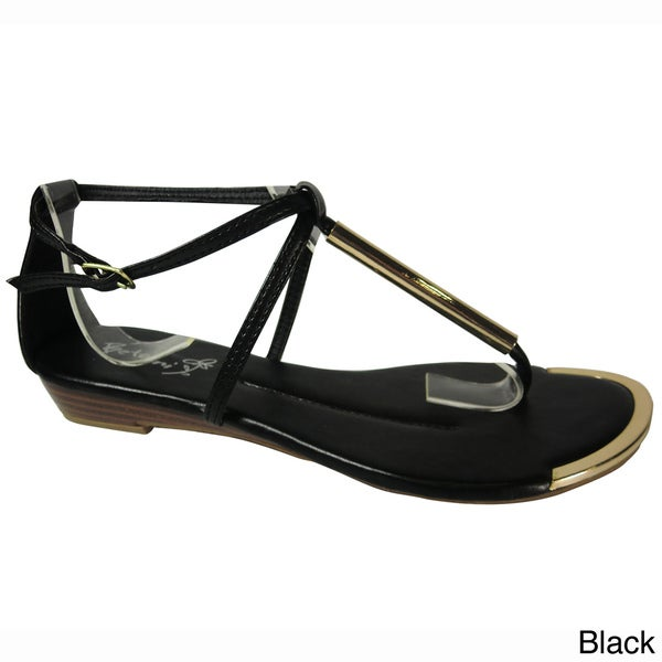 Betani by Beston Women's 'ANA-3' Gladiator Sandals