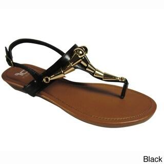 Betani by Beston Women's 'KELLY-2' T-strap Sandals