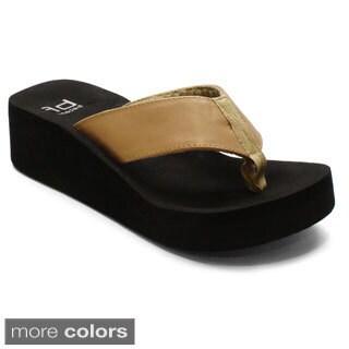 Betani by Beston Women's 'EVA-3' Flip-flop Sandals