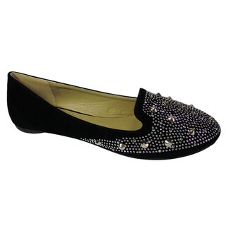 Betani by Beston Women's 'GAGA-2' Smoking Flats