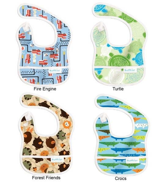 Bumkins Boys Adjustable Waterproof Starter Bib (6-9 months)