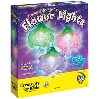 Color-Changing Flower Lights Kit-