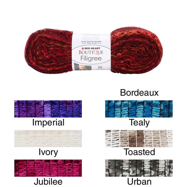 Red Heart Boutique Filigree Yarn