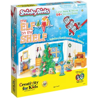 Shrinky Dinks The Elf On The Shelf Kit-