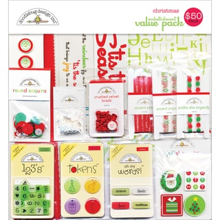 Embellishment Value Pack-Christmas