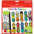 Paint By Number Kit-Pop Art Skateboard