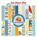 "Beach Boardwalk Double-Sided Cardstock Pad 6""X6"" 24/Sheets-"