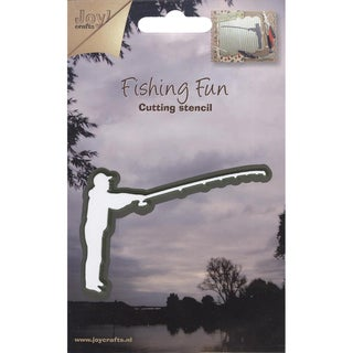 Joy! Craft Cut & Emboss Dies-Fishing Fun/Fisherman Standing