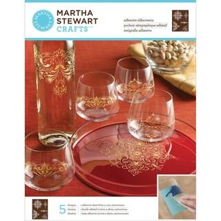 """Martha Stewart Crafts Glass Silkscreen 8-1/2""""X11""""-Ornate Accents"""