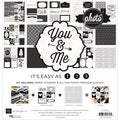 "Photo Freedom You & Me Collection Kit 12""X12""-"