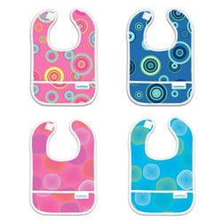Bumkins Waterproof Catch All Adjustable Starter Bib (6-9 months)