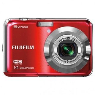 Fujifilm FinePix AX500 14MP Red Digital Camera