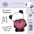 "Party Paws Ezmount Stamps 4.75""X4.75""-Love From Bamboo"