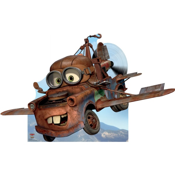 Air Mater Disney Pixar Cars Take Flight Cardboard Standup