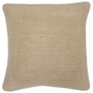 'Aub Linen 22x22-inch Throw Down Pillows (Set of 2)