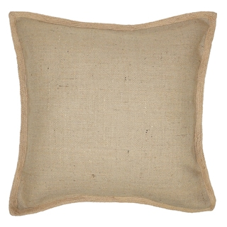 Aiks Jute Basket 22x22-inch Throw Pillows (Set of 2)