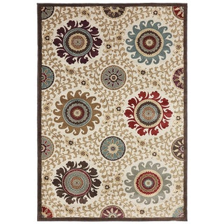 American Rug Craftsmen Madison Sweet Wyeth Sand Storm Rug (5'3 x 7'10)