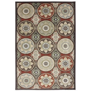 American Rug Craftsmen Madison Cliff Lodge Coco Rug (5'3 x 7'10)