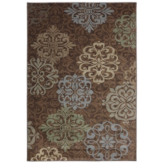 American Rug Craftsmen Madison Open Vista Brown Rug (5'3 x 7'10)