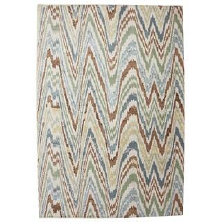 American Rug Craftsmen Serenity Painted Desert Butter Pecan Rug (9'6 x 12'11)