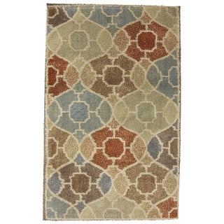 American Rug Craftsmen Shaggy Vibes Cathedral Butter Cup Rug (10'x14')