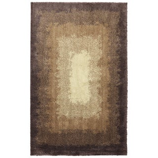 American Rug Craftsmen Shaggy Vibes Central Park Hot Fudge Rug (3'4 x 5'6)