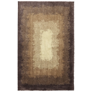 American Rug Craftsmen Shaggy Vibes Central Park Hot Fudge Rug (5' x 8')
