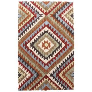 American Rug Craftsmen Shaggy Vibes Palisades Cilantro Rug (10'x14')
