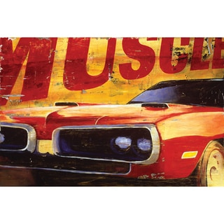'Muscle Car' Unframed Print
