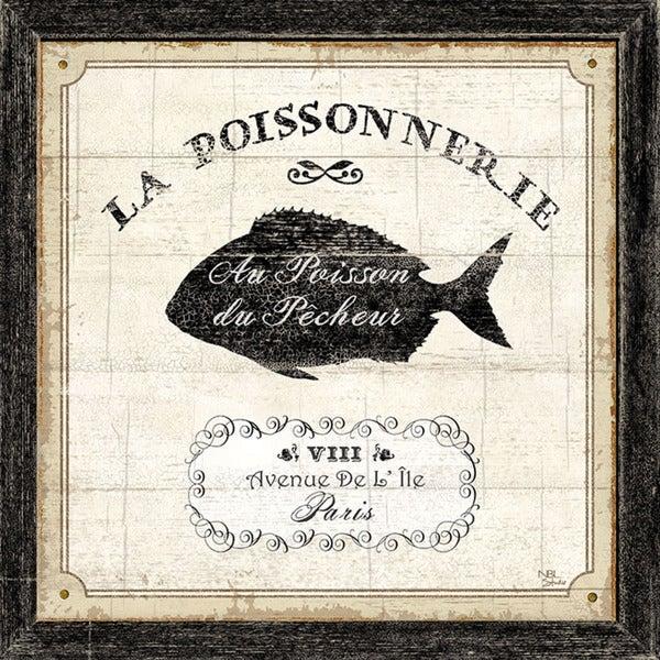 'French Market IV' Unframed Print