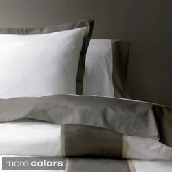Marc Thee Home Taylor Collection 350 Thread Count Twill Weave Cotton Duvet Cover