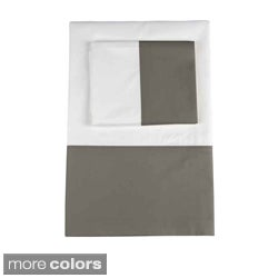 Marc Thee Home Taylor Collection 350 TC Twill Weave Cotton Deep Pocket Sheet or Pillowcase Separates