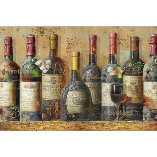 'Wine Collection I' Unframed Print