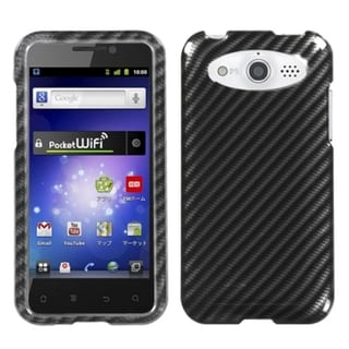 INSTEN Racing Fiber 2D Silver Phone Case Cover for Huawei M886 Mercury