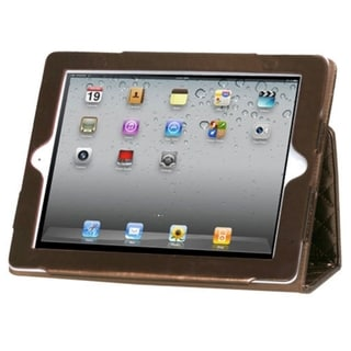 BasAcc Luxury Coffee Quilted MyJacket Case for Apple iPad 2/ 4