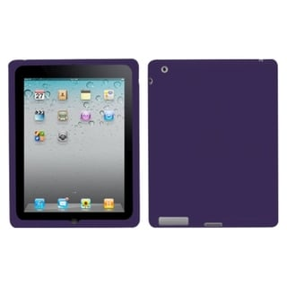 BasAcc Solid Dark Purple Case for Apple iPad 2/ 4