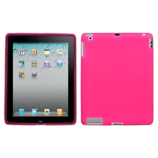 BasAcc Pink S-Shape Candy Skin Case for Apple iPad 2