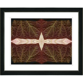 Studio Works Modern 'Abstract Leaf Series - Interplay' Framed Art Print