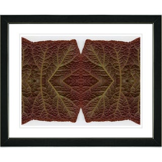 Studio Works Modern 'Abstract Leaf Series - Joined' Framed Art Print