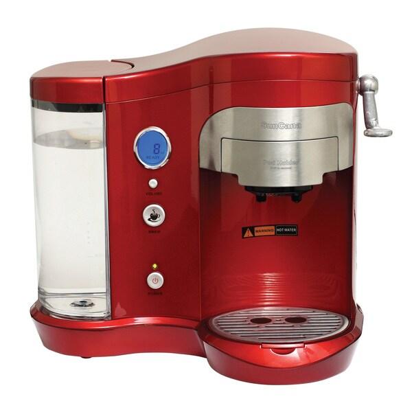 Blue Tigres Red Suncana Coffee Pod Brewer