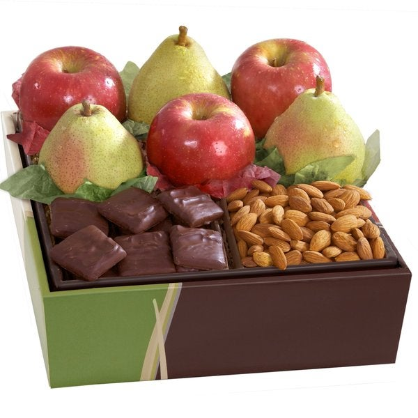 Organic Sweet and Crunchy Fruit & Organic Chocolate Gift