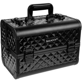 Shany Premium Collection Black Diamond Makeup Train Case