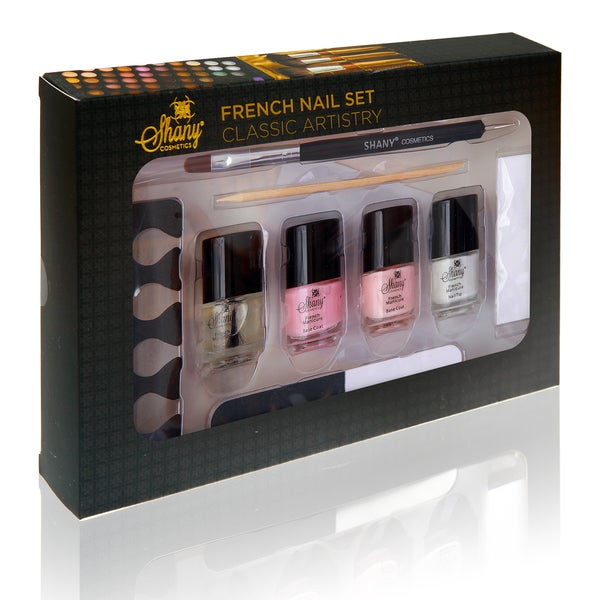 Shany French Manicure Nail Set