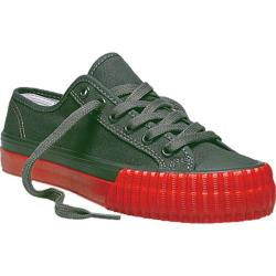 PF Flyers Center Lo Canvas Dark Grey/Coral Canvas