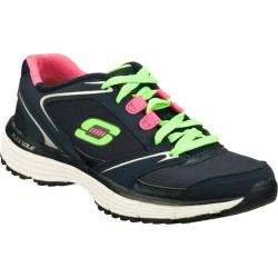 Women's Skechers Agility Rewind Navy/Green