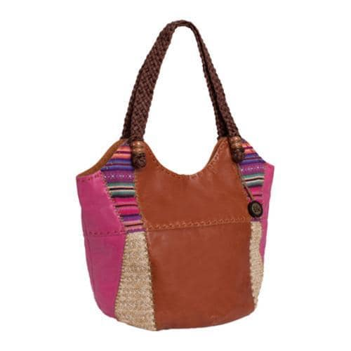 Women's THE SAK Indio Large Tote Patched