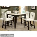 Sconi Bicast Leather Counter Height Chairs (Set of 4)