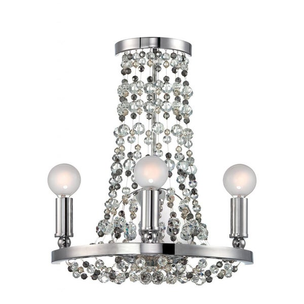 Channing 3-light Polished Chrome Wall Sconce