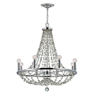 Channing 8-light Polished Chrome Chandelier