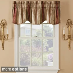 Tuscan Rod Pocket Valance Pair